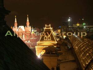 Монтаж новогодней уличной иллюминации, подсветки улицы и новогодних фигур